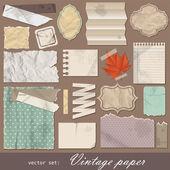 Vintage paper — Stock Vector