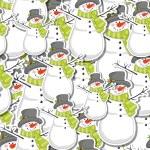 Snowman — Stock Vector #13753684