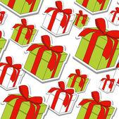 Geschenkverpakking — Stockvector
