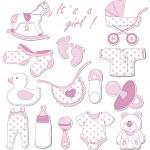 Baby set — Stock Vector #14499409