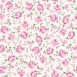 Shabby chic rose - Stock vektor