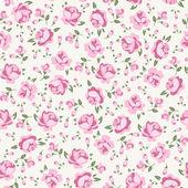 Shabby chic róża — Wektor stockowy