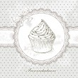 Cupcake background — Stock Vector #18956987