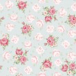 Rose pattern - Imagen vectorial