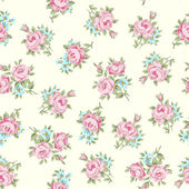 Rosa shabby chic — Vector de stock