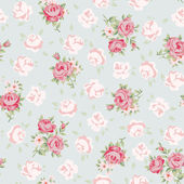 Rose pattern — Vector de stock