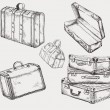 Suitcases set — Stock Vector #26406117
