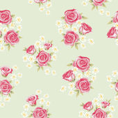 Rose background 3 — Stock Vector