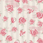 Rose background 4 — Stock Vector