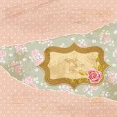 Růže šrotu přání 3 — Stock vektor