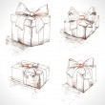 Gift box set — Stock Vector #36801827