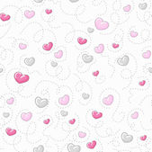 Schattig hart patroon — Stockvector