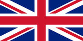Flag of the United Kingdom. — Foto Stock