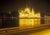 Parliament building at night. — Stock Photo