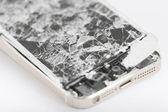 Broken mobile device. — Foto Stock