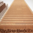 Постер, плакат: NYC look up The New York Times Building