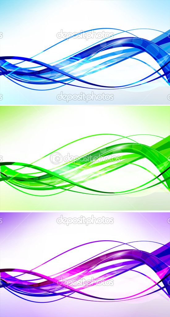 Abstract background set — Stock Vector #12365549