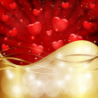 Royalty-Free Stock Vector Image: Abstract valentine background