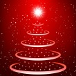 Christmas tree background — Imagens vectoriais em stock