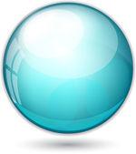 Vector ball illustration — Stock Vector