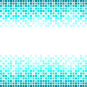 Blue square abstract background — Stock Vector