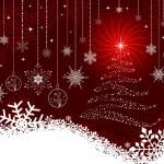 Christmas vector background — Stock Vector #7376792
