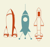 Rocket Icon — Stock Vector