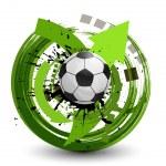 Vector soccer ball — Stock Vector #13673028