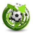 Vector soccer ball — Stock Vector #13673028