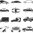 Car icon - Image vectorielle
