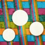 Grunge multicolored stripes background — Vecteur #13675421