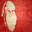 Santa Claus. Portrait on grunge background — Stock Vector
