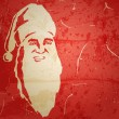 Santa Claus. Portrait on grunge background — Stock Vector #13676118