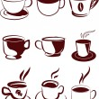 Coffee icons set — Stock Vector #13676246