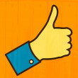 Thumb Up — Stock Vector #13676925