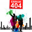 Stock Vector: 404 Page not found