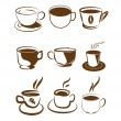 Coffee design elements — Stock Vector #13677132