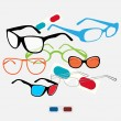 Royalty-Free Stock Vector Image: Glasses set