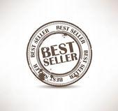 Grunge rubber stamp. Best seller — Stock Vector