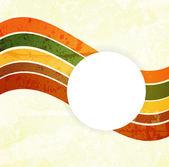 设计的抽象图案。复古纸背景 — 图库矢量图片