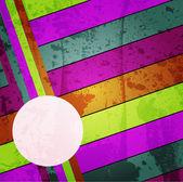 Grunge çok renkli arka plan şeritler — Stok Vektör
