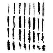 Brush-blot — Stock Vector