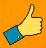 Thumb Up — Stock Vector