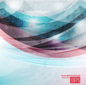 Abstract Vector Wave — Stock Vector