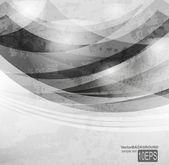 Abstract dark shape design concept. Vector illustration — Stock Vector