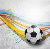 Soccer design background — Stock Vector