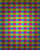 Puzzle abstrata forma colorida vector design fundo — Vetorial Stock