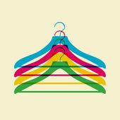 Colgador de ropa — Vector de stock