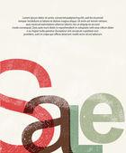 Sale. Design print background — Stock Vector