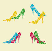 Woman shoe — Stock Vector
